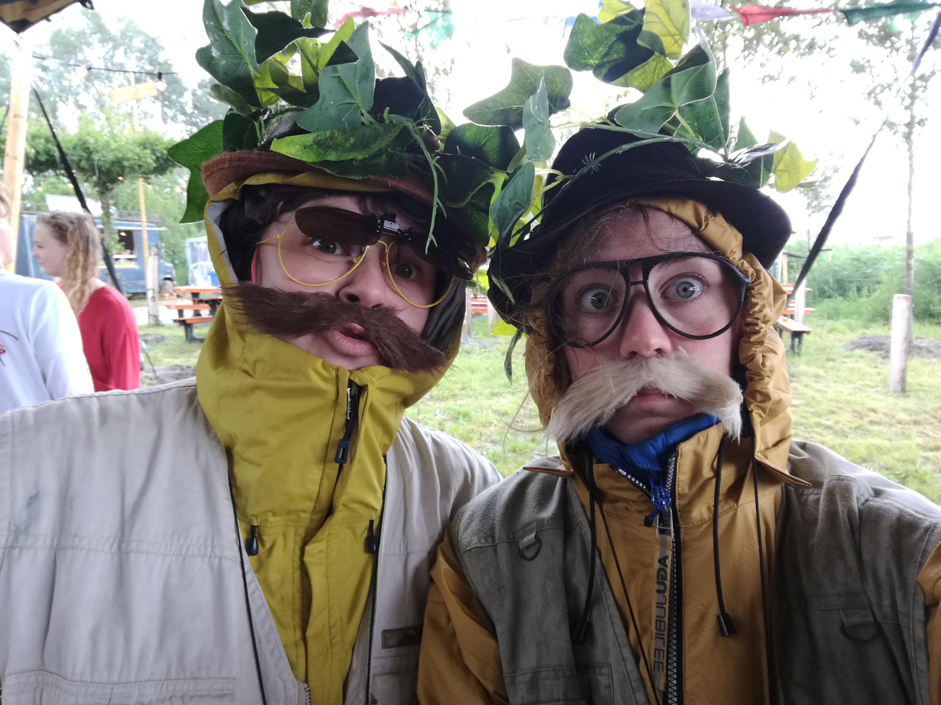 Voedselboswachters Bram en Kees New Grounds festival 2019